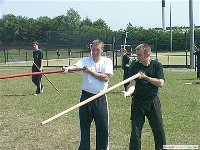 Weapons Training at Summer Course 2006 Scarborough