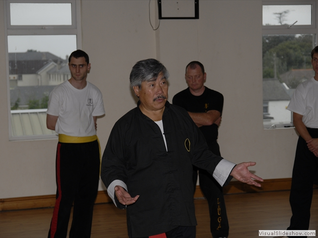 Master Yau at Jason Crabtree Course