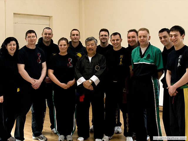 Group photo at Master Yau Course