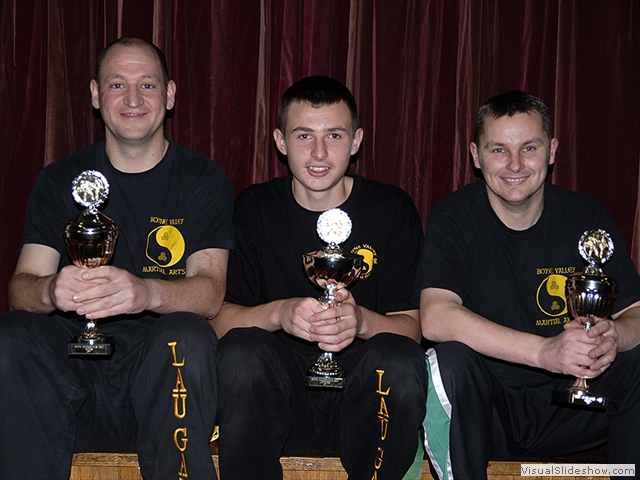 Competition Success for Dave, Jake and Ian from the BKFA Nationals