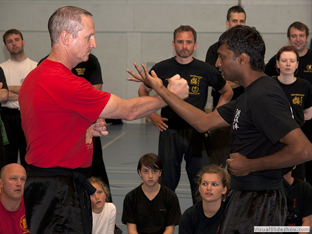Guardians Andrew Nation and Rash Patel demonstrating at the Summer Course