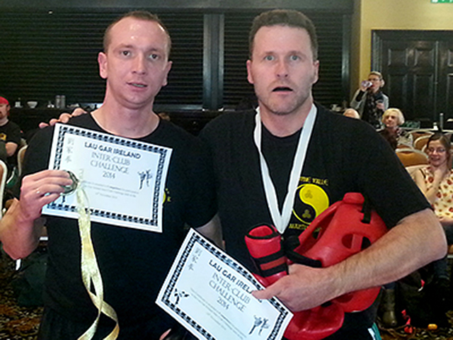 Interclub Tournament Success for Simon and Arek